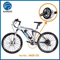 Manufacturer direct selling 26 inch 250W e bike mavic crossride , central motor for electric bike, Electric sport bicycle kits