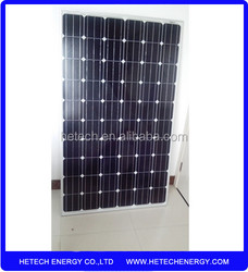 High efficiency pv solar panel price per watt 245w on alibaba from china supplier