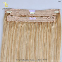 Popular In America Best Quality Intact Cuticles Wholesale human hair remy fishing line