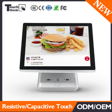Top Sale New Design Dual Touch Screen Restaurant Monitor Cash Register for Hotels