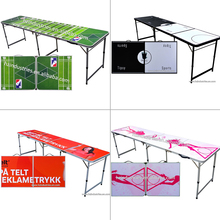 Beer pong game table folding beer pong table party pong table supplier
