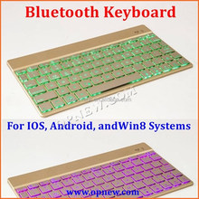 OEM Wireless bluetooth Keyboard for Laptops & Tablets, Compatible with IOS, Android, andWin8 Systems with backlighting