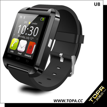 hot new products for 2015 multi-language plastic smart watch android for connecting android smartphone