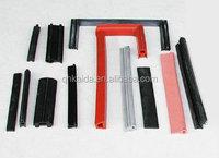 factory produce eco-friendly silicone rubber sealing strip/freezer door seal strip