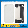 High quality for iphone 4s front housing,for iphone 4s rear back glass cover
