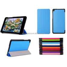 2015 Hot Product Smart Tablet Leather Cover Cases for Asus T90 Chi