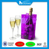Customized plastic PVC wine bottle pouch
