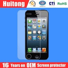 Earliest manufacturer fastest delivery mobile phone accessories tempered glass screen protector for iphone 5