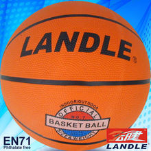 rubber leather PVC PU made signle or multicolour design basketball