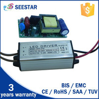 passing CE 300ma 15v-25vdc 4-7w constant current waterproof ip66 led driver model