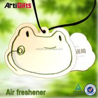 Cheap absorbent flag car paper air freshener