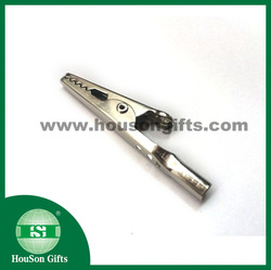 electrical clip,metal Crocodile clips,static-free clip