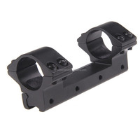 Funpowerland One Piece low Profile 25.4mm Ring 11mm Dovetail Rail Mount For Rifle Scope
