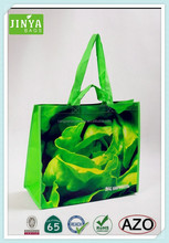 China hot sale double handle tote bag, non woven shopping bags with lsminstion, fashion women bag