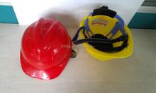 casco di sicurezza in plastica