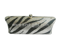 High quality Bling rhinetstone handmade lady handbag