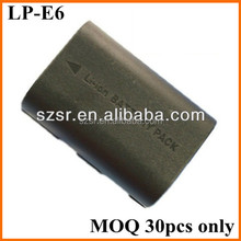 Low Price For canon 7d digital camera battery pack lp-e6 lpe6