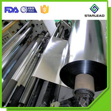SLD-01 High Glossy Aluminum Metallized Polyester PET Film