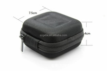 Black Portable shockproof bag Replacement EVA Hard Carrying case for SennheriEarphone Line and small items