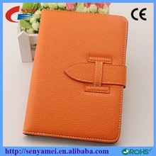 High Quality Fashion Design Stand Leather Hand Holder Case For iPad 2 3 4 5 6
