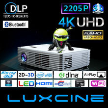 Hot seller !!! Z2000SD 2205P Android smart Blu-ray 3d video projector 10000 lumen