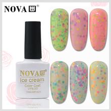 2015 NEW Arrival OEM Fashionable color 36 colors Soak off 10 ml UV LED Gel Polish ice cream nail polish#010