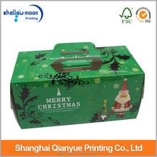 Fancy china manufacture paper wholesale box cupcake