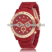 Fashional Soft-touching Wristband Quartz 2015 Trendy Alloy Watch