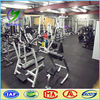 Gym 10mm thick rubber mat indoor shock resistance rubber flooring