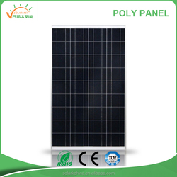 High Efficiency polysilicon solar panel 170w with CE/TUV/UL Certificate