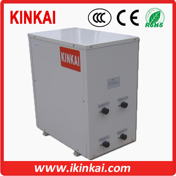 Heating and cooling domestic hot water water source heat for Domestic hot water heaters