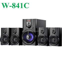nigeria 5.1ch active speaker with USB/SD/FM/2MIC/REMOTE CONTROL/LED DISPLAY