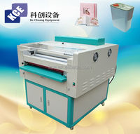 High frequency embossing machine for photo leather used