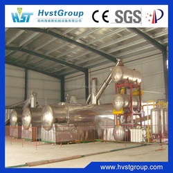 50tons Hydraulic Auto Feeder Waste Tyre Pyrolysis Plant, Waste Tire Recycling to Diesel