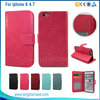 Luxury fashion design for iphone 6 leather wallet case for iphone 6 plus