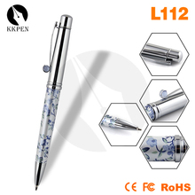 Shibell cheap red laser pointer pen folding ballpoint pen slim metal twist ball pen
