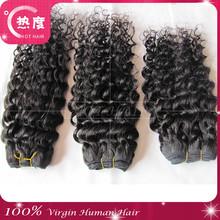 "22"" New 8 - 32 Inch Deep Wave 100% Brazilian Virgin Human Hair Factory Wholesale"
