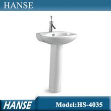 Hs-4035 foshan ceramica fiore progettazione lavabo prezzoinindia