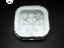 mobile phone custom print cute nice design cheap earphone case