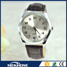 Sample Free watch men leather