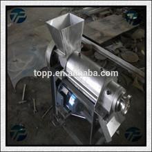 Automatique Rustless acier industrie de la pomme extracteur de jus