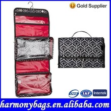 Portable design Specialized printing folding Cosmetic bag