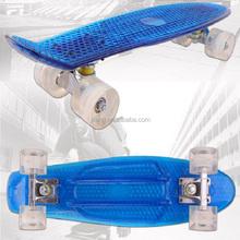 New 22 Inch CE/EN13613 plastic skateboard for sale/fish skateboard Penni Skateboards longboards