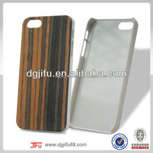 100% Real wood and PC case for iPhone 5 with IMD