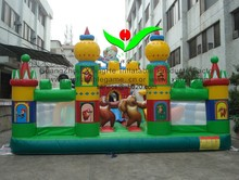 Hot sale commercial grade PVC Tarpaulin brand new FU057 inflatable Boonie Bears fun city