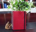 Oficina de la escuela cuadernos espirales, escritura bloc de notas, composición pad
