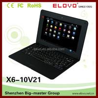 "mini cheap Android4.4 and Ubuntu OS laptop 10inch dual core VIA WM8880 wifi and ethernet slot 1gb/8gb storage dual OS 10"" laptop"
