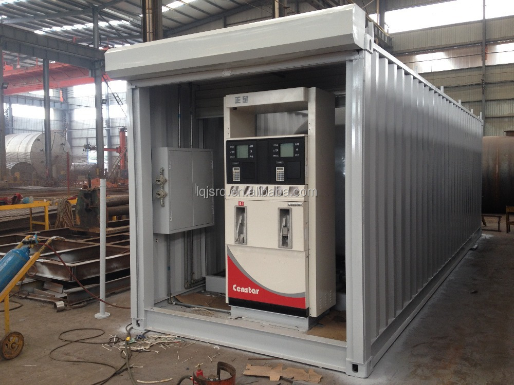 20ft And 40ft Portable Filling Station/portable Gas ...