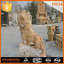 2014 PFM hot sale natural marble made hand carved stone statue of cupid