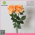 baratos rojo artificial flor color de rosa con flor artificial estambre